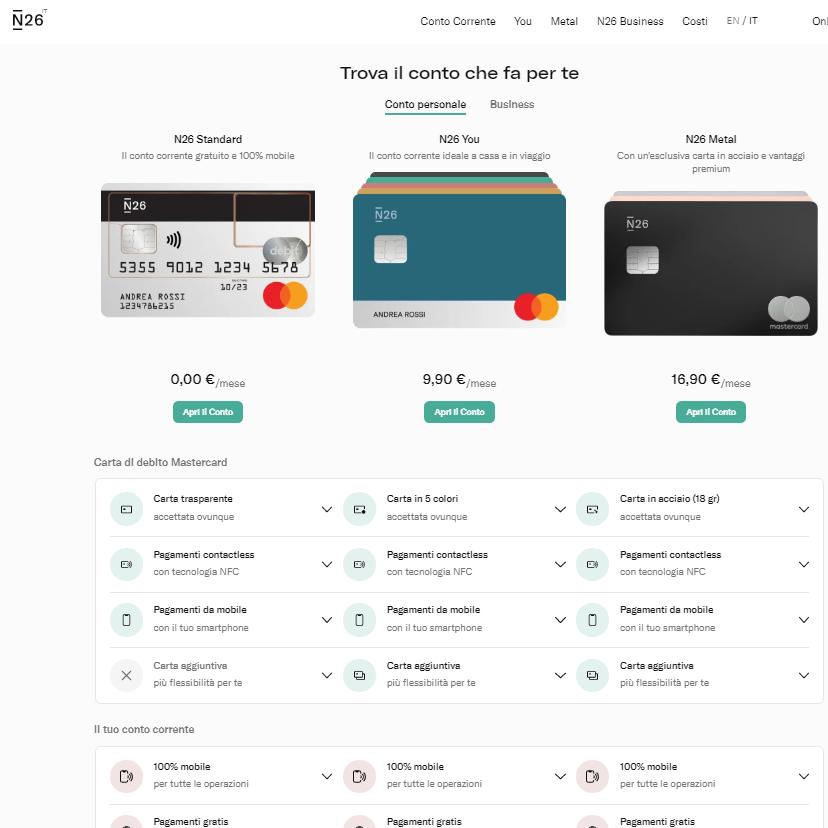 banca online n26